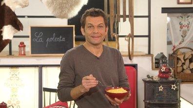 Purée de polenta au fromage à la piémontaise