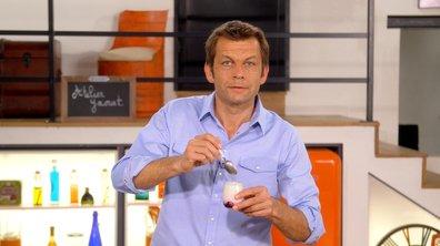 Yaourt maison aux cerises sans yaourtière