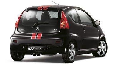 Peugeot 107 GT Line : une série spéciale pour la mini-citadine