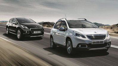Peugeot 2008 et 3008 Crossway 2014 : séries spéciales et estivales