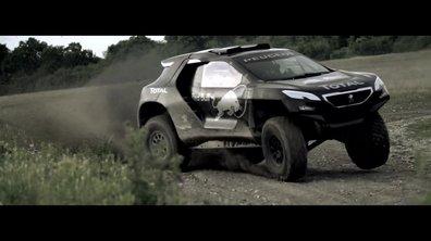 Le Peugeot 2008 DKR en essais pour le Dakar 2015