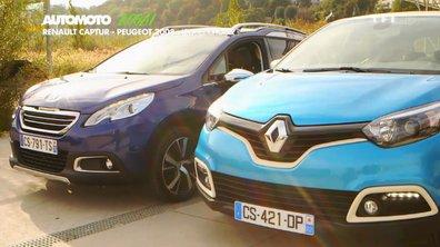 Essai Vidéo : Peugeot 2008 vs Renault Captur !