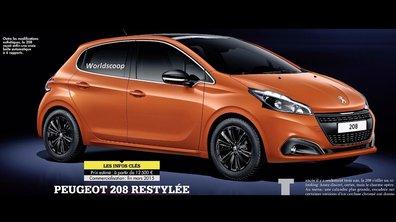 Peugeot 208 2015 : les premières photos du restylage