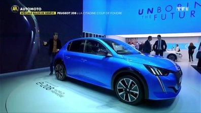Salon de Genève - Peugeot 208: La Citadine coup de foudre