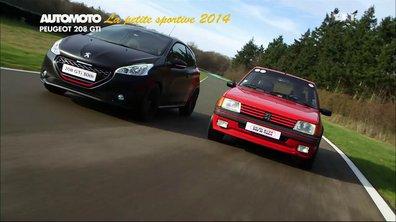La Petite Sportive de l'Année 2014 est la Peugeot 208 GTi 30th