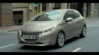 La nouvelle Peugeot 208 en publicité