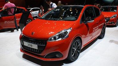 Salon de Genève 2015 : Peugeot 208 restylée, légèrement plus agressive