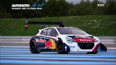 No Limit : la Peugeot 208 T16 Pikes Peak sur circuit !