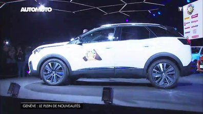 Peugeot 3008, Voiture de l'Année 2017 au Salon de Genève
