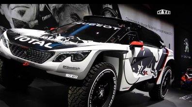 Mondial de l'Auto 2016 : Peugeot 3008 DKR