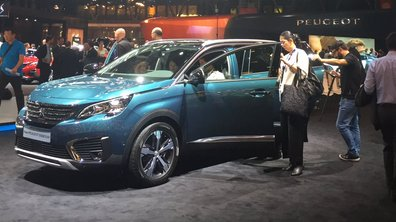 Mondial de l'Auto 2016 : la nouvelle Peugeot 5008 fait ses premiers pas