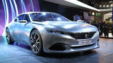 Mondial de l'Automobile 2014 : Peugeot Exalt Concept,  une vision sublimée de la future berline ?