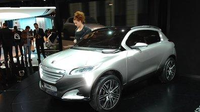 Mondial de l'Auto 2010 : Le concept Peugeot HR1 mélange les genres