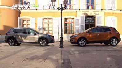 Essai Duel : Opel Mokka X contre Peugeot 2008