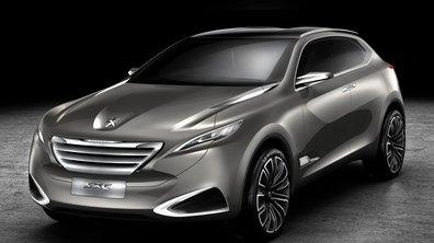 Peugeot SxC Concept : un crossover de luxe au Salon de Shanghai