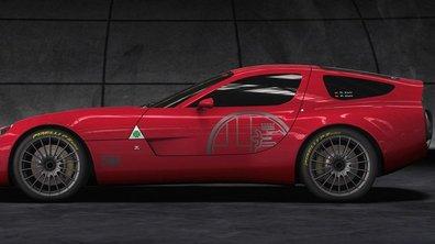 Alfa Romeo TZ3 Corsa, sublime sportive ... unique !