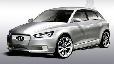 Audi A1 Sportback Concept : L'hybride 5 portes