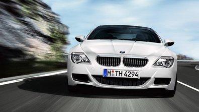 BMW Série 6 : Pack Sport sur le coupé et le cabriolet