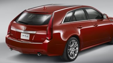 Cadillac CTS Sport Wagon : Break de luxe