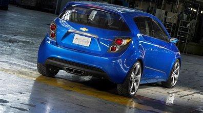 Salon de Detroit 2010 : Chevrolet Aveo RS