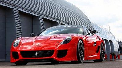 Ferrari 599 XX : une bombe !