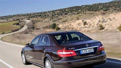 La Mercedes Classe E accueille 2 moteurs BlueEFFICIENCY