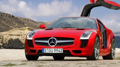 Mercedes Gullwing: le revival