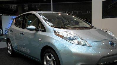 Le tout premier essai de la Nissan Leaf