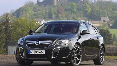 Opel Insignia Sports Tourer OPC : le break hautes performances