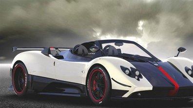 Pagani Zonda Cinque Roadster : aération radicale !