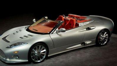 Salon de Francfort 2009 : Spyker C8 Aileron Spyder