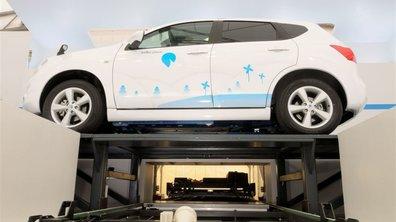 Better Place présente sa station-service électrique high-tech