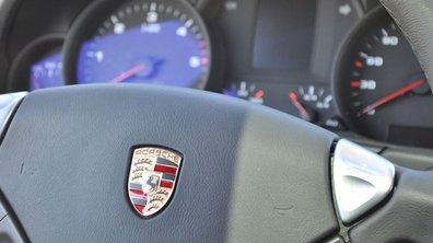 Porsche : chute des ventes de 28%