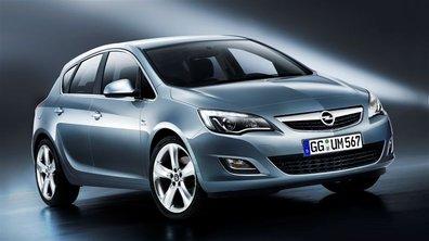 Opel Astra : l'habitacle se dévoile