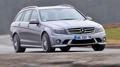 Essai : Mercedes C63 AMG break