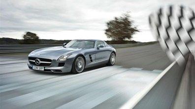 Les premières Mercedes SLS commencent à être produites