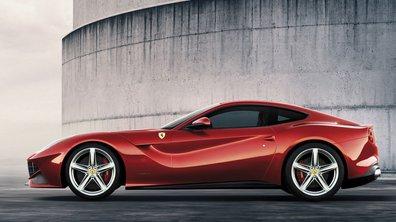 Mondial de l'Auto 2012 : la Ferrari F12 Berlinetta, simplement historique