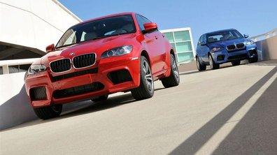 BMW X5M et X6M : le configurateur est disponible