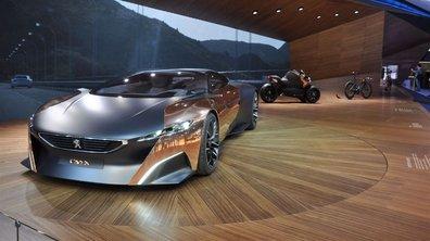 Mondial de l'Auto 2012 Live : le concept-car Peugeot Onyx met tout le monde d'accord