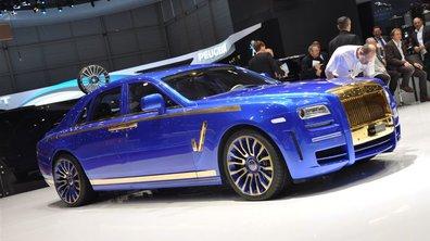 Salon de Genève 2010 : Rolls-Royce Ghost par Mansory