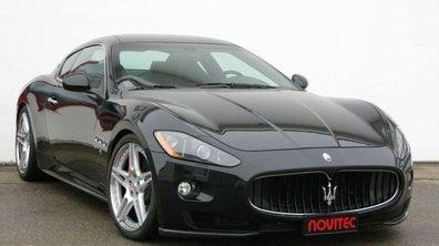 Maserati GranTurismo by Novitec : et 160 ch de plus !