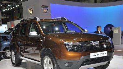 Voici les tarifs du Dacia Duster