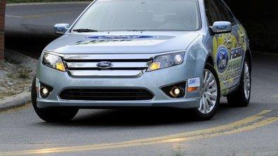 Ford Fusion Hybride : record d'économie !