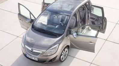 Opel Meriva 2010 : des portières vraiment pratiques ?