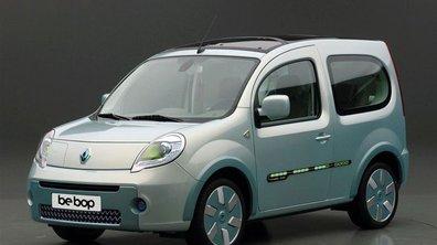 Renault Kangoo Be Bop Z.E : un Be Bop 100% écolo !