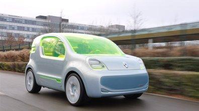 Essai du concept électrique Renault ZE