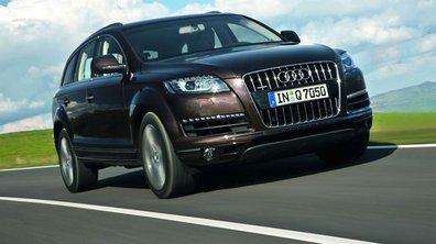 Audi Q7 : restylage et cure de sobriété
