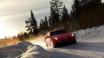 No Limit : Une Ferrari FF à la neige