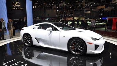 Lexus LFA fête sa supersportive
