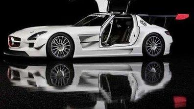 Mercedes SLS GT3, place au circuit !